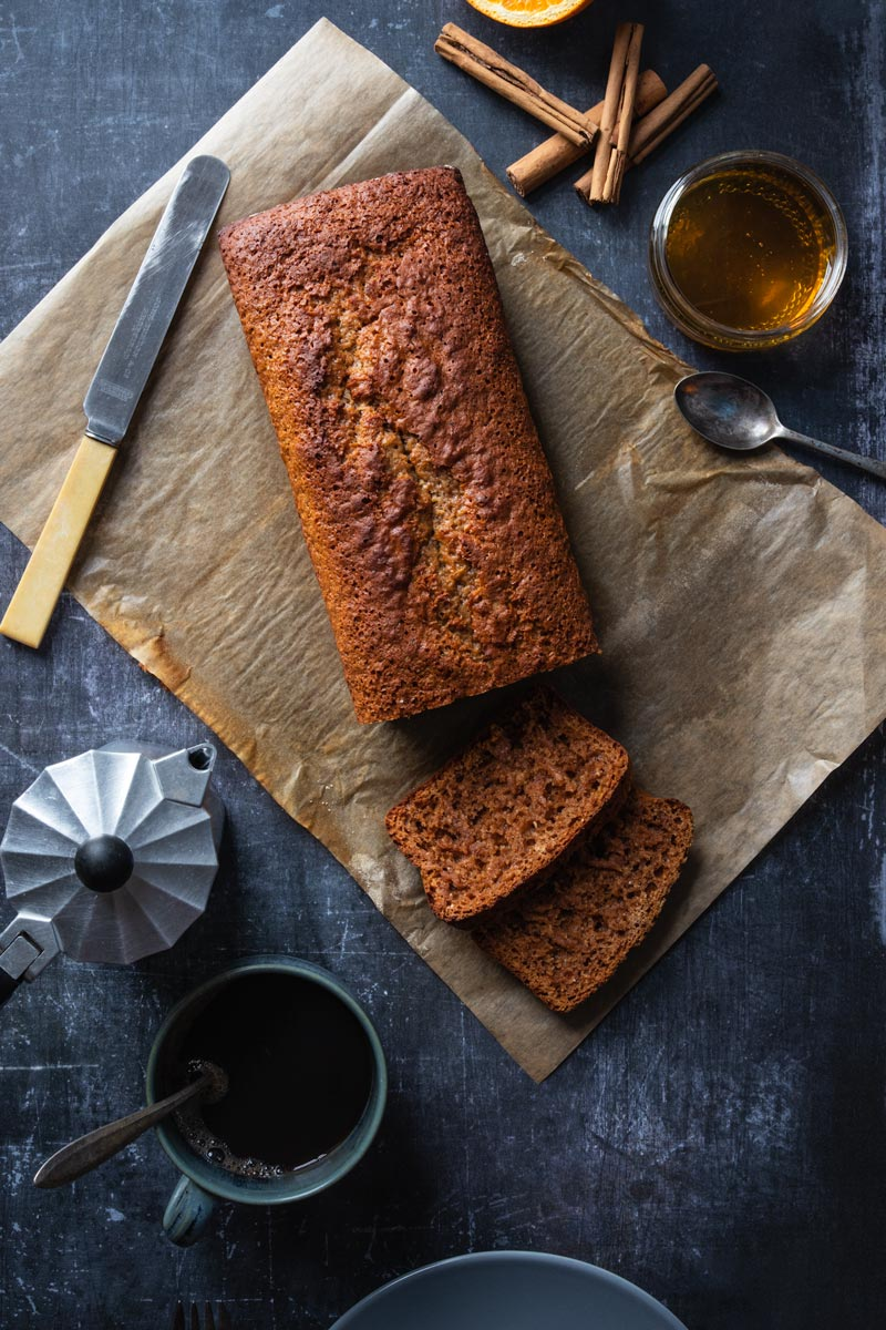 pain d'epices loaf cake